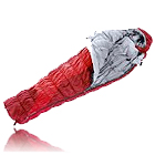 En god sovepose kan holde dig varm hele natten (foto: eventyrsport.dk)